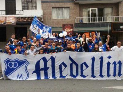 Hnchas Millonarios Medellín