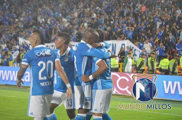 Millonarios - Pasto 2017