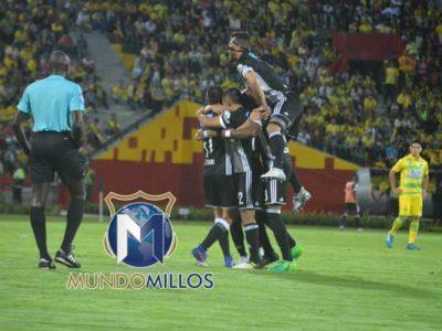 Bucaramanga 1-3 Millonarios 2017